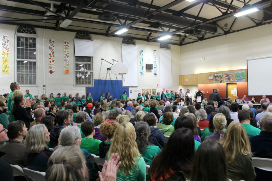 The+room+was+jam-packed+with+over+100+educators+and+community+members+at+the+Burlington+School+Board+meeting+on+Thursday%2C+Oct.+13.