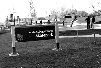 New Skate Park Opens in Burlington