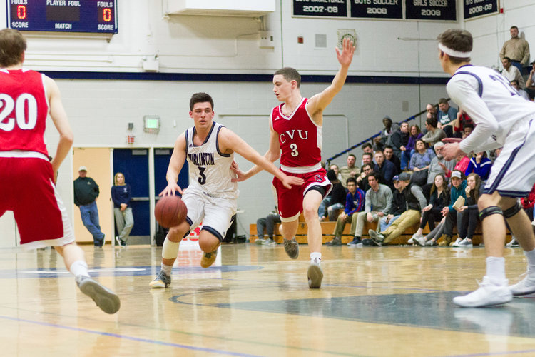 BHS+Point+Guard+Kuijtim+Hashani+drives+to+the+basket+during+a+game+against+Champlain+Valley+Union+High+School+last+Tuesday.+%7C+Photo%3A+Jake+Bucci%2FRegister