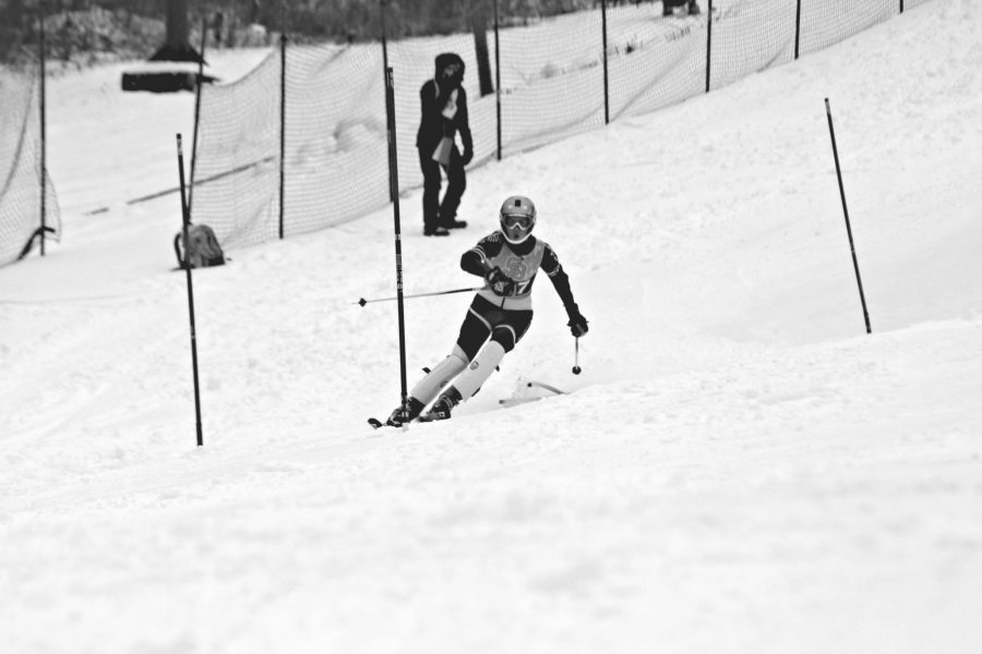 BHS+junior+and+alpine+ski+team+captain+Marley+Tipper+heads+down+the+slope+during+a+race+at+Cochran%27s+Ski+Area+in+Richmond+last+season.+%7C+Photo%3A+Courtesy
