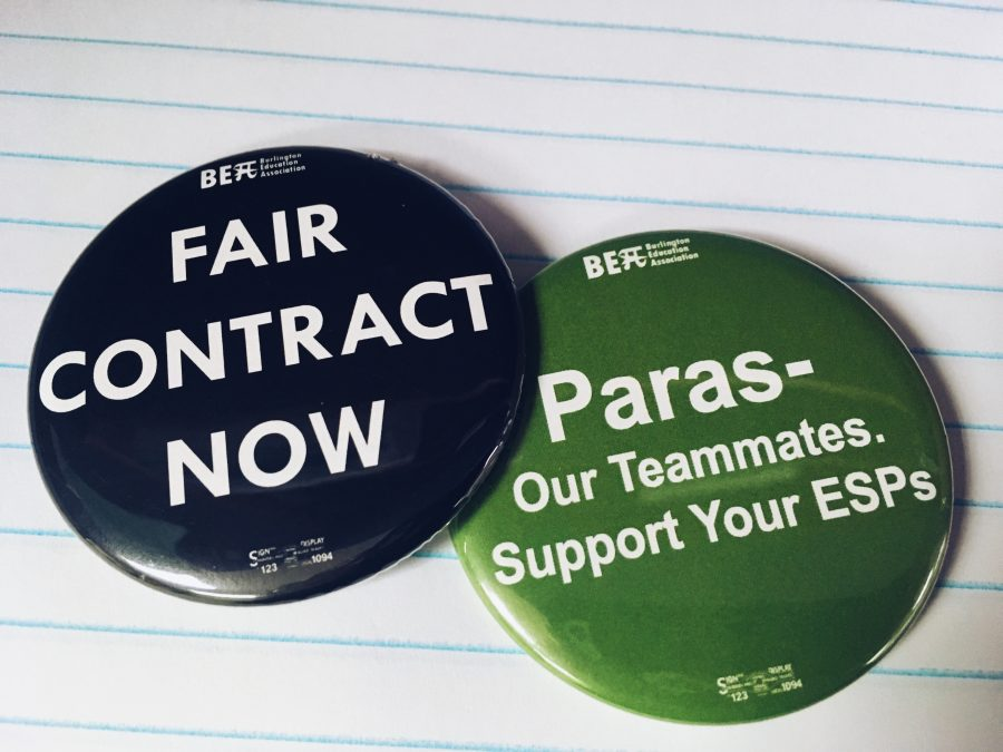 Paraeducators working without contract since August