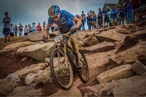 Photo: Courtesy Gaelen Kilburn Kilburn placed second in Mountain Bike Nationals in Snowshoe, West Virginia