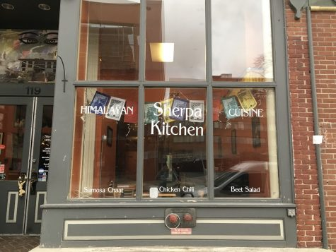 Photo: Rebecca Cunningham // Sherpa Kitchen Storefront on 119 College Street, Burlington, VT
