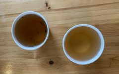 The Yi Mei Ren (left) and Tie Guan Yin (right) teas served at Lion Turtle Tea Photo: Lea Mihok/Register