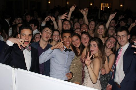 Students rock the house at Winter Ball in January! Photo: Colby Skoglund
