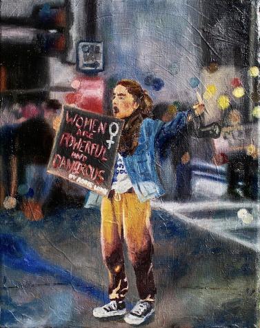 ella art feautre protest