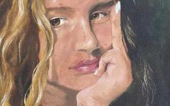 Self Portrait. Courtesy Ella Ambroggio