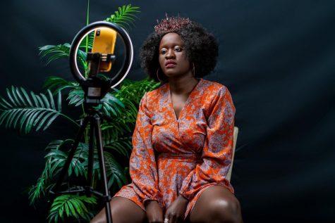 'Selfie Mirror', winner of the 2021 Congressional Art Competition. Photo: Patient Mwibeleca