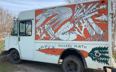 Diggers' Mirth's truck, parked at the farm. Photo: Anna Sanborn/Register