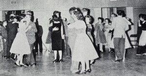 1960 BHS dance. Photo: OREAD